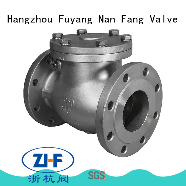 cast industrial check valve supplier coal chemical industry