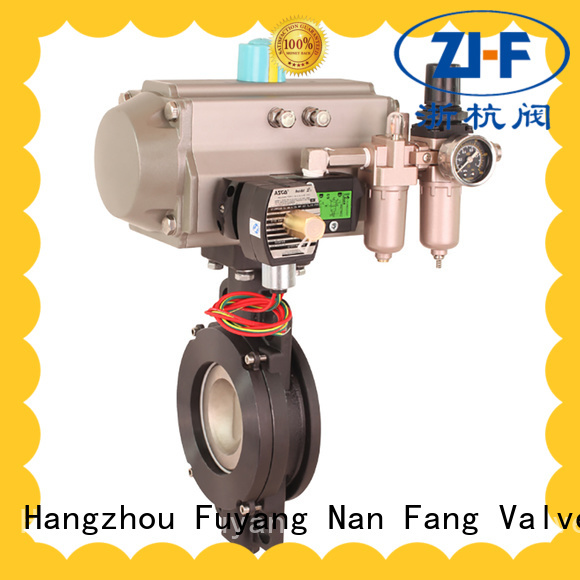 Nanfang china automated butterfly valve valve metallurgy