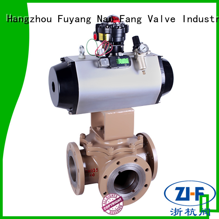 Nanfang air operated ball valve tool fine chemicals