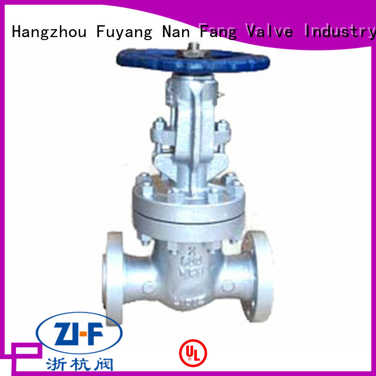 Nanfang hand operated gate valve supplier electricity