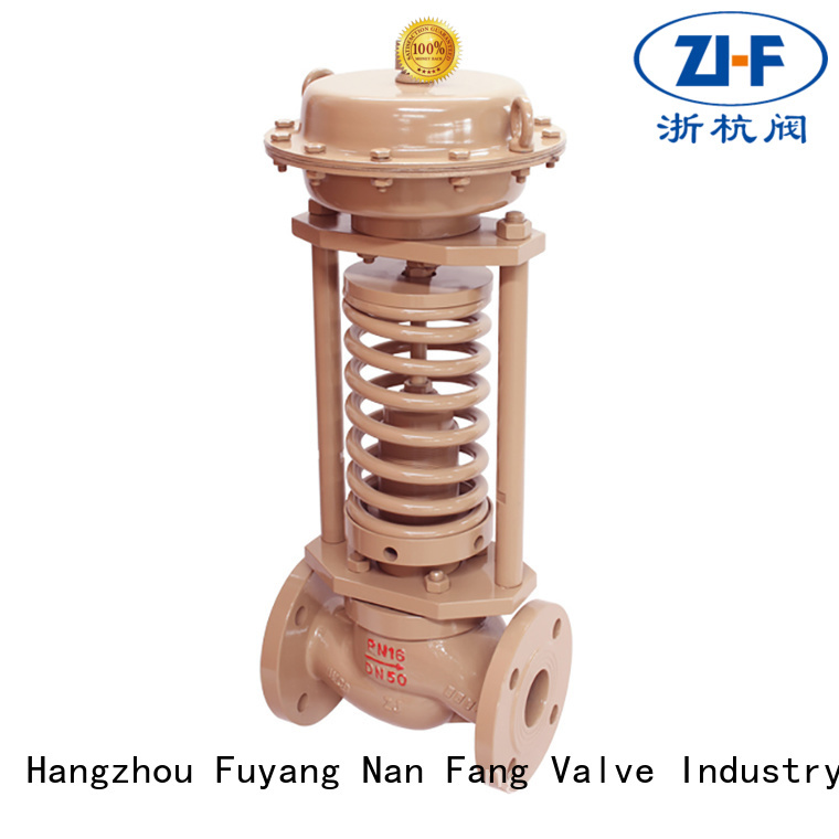 Nanfang pressure self actuated the control valve manufacturer coal chemical industry