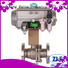 Nanfang mechanical electric actuated ball valve manufacturer industry
