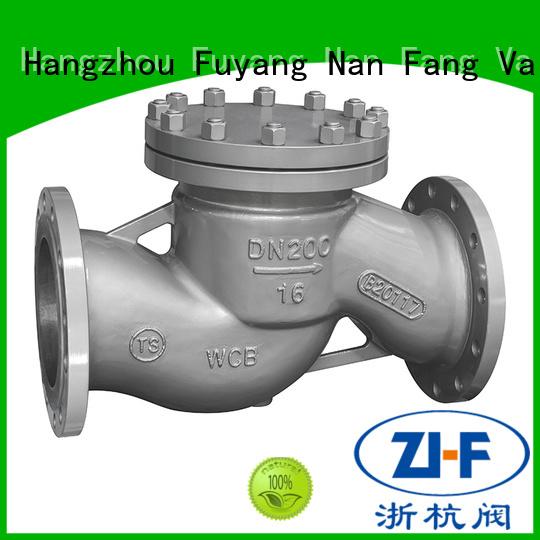 Nanfang globe industrial check valve tool metallurgy
