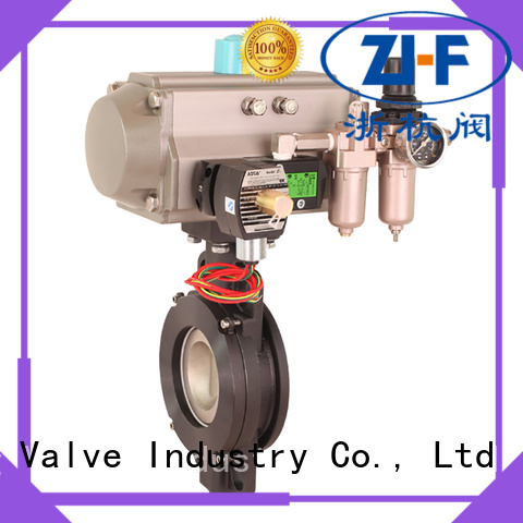 air actuated butterfly valve valve chemical fiber Nanfang