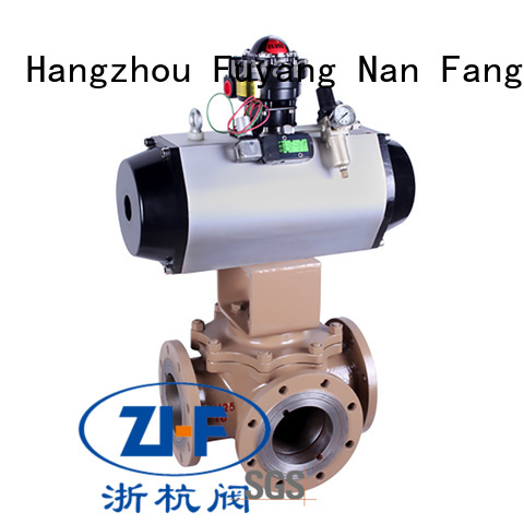 Nanfang safe automated ball valve manufacturer chemical fiber