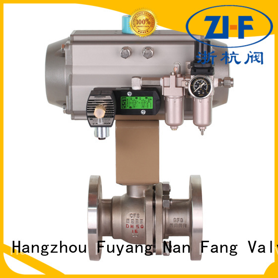 mechanical electric actuated ball valve manufacturer coal chemical