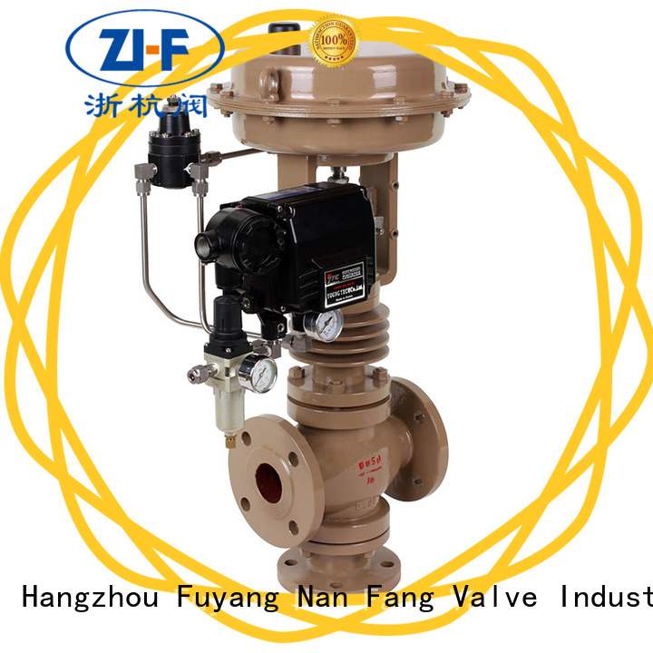 Nanfang high pressure cage type control valve supplier metallurgy