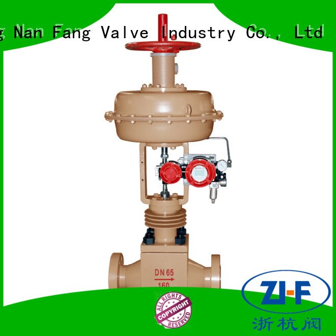 Nanfang high pressure cage type control valve papermaking
