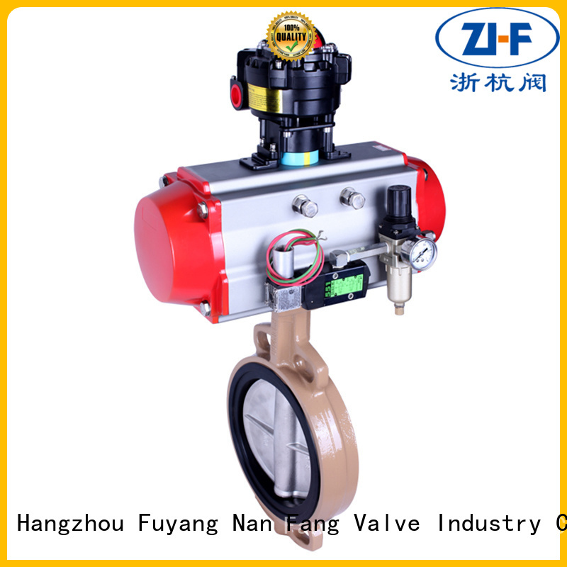 oem pneumatic butterfly valve tool LNG