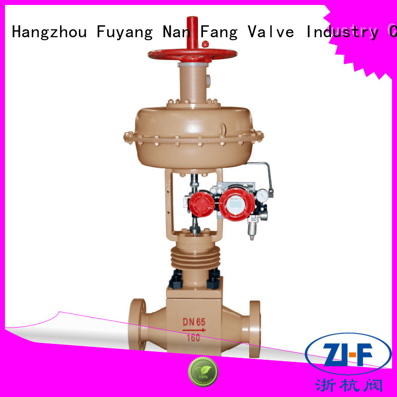 Nanfang high pressure cage type control valve tool new energy