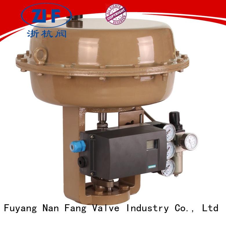 Nanfang oem pneumatic valve actuator machine LNG