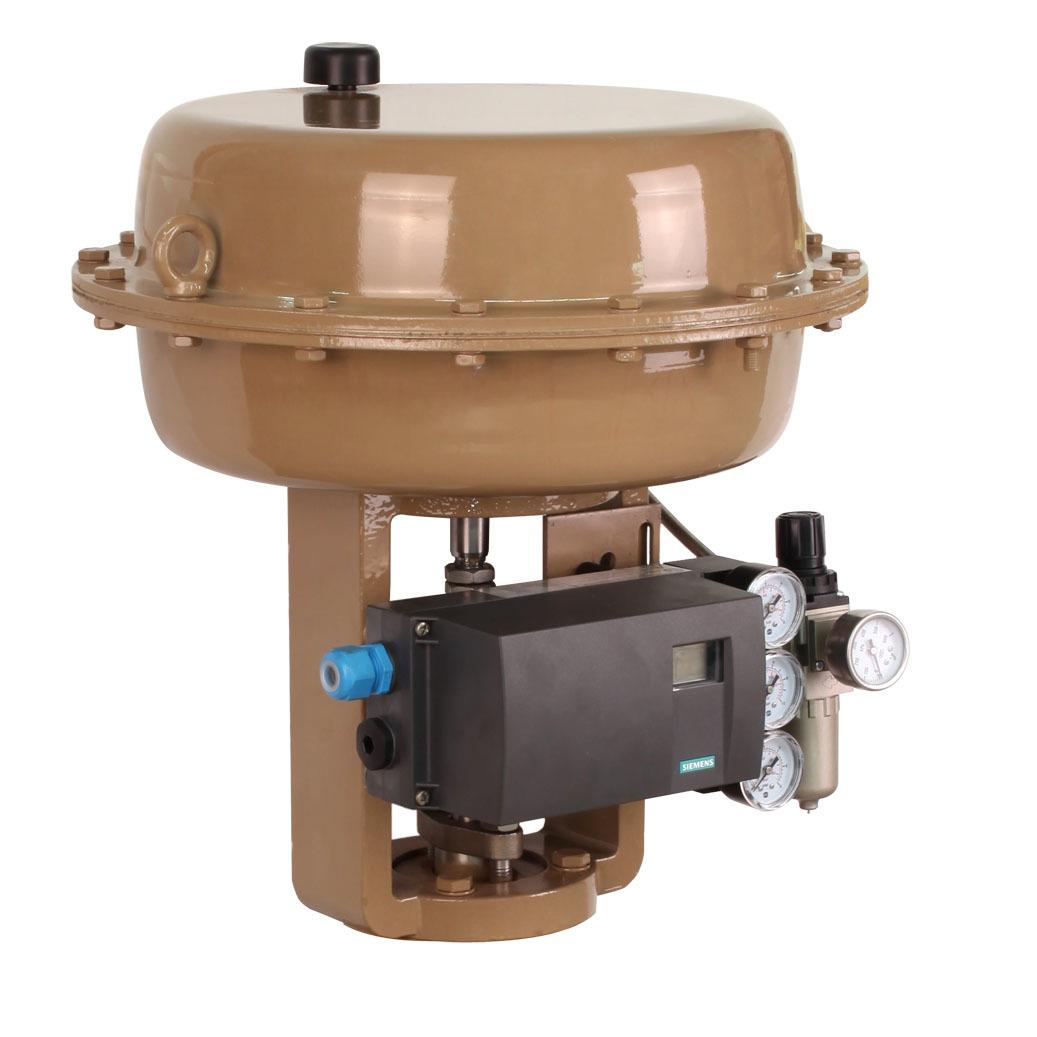 pneumatic actuator & motorized ball valve
