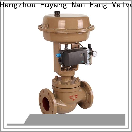 Nanfang pneumatic valve trim selection Solution metallurgy