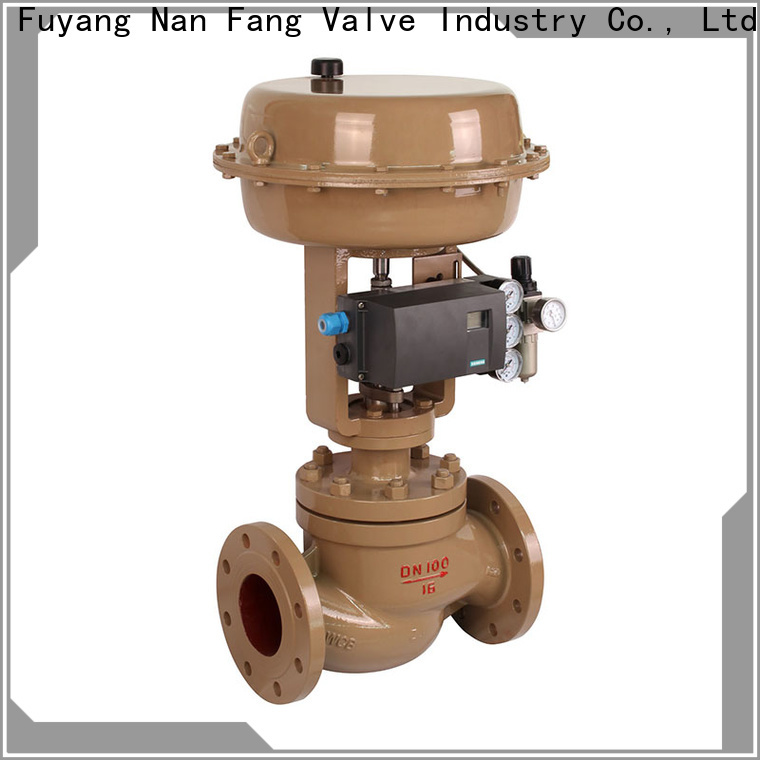 control valve working