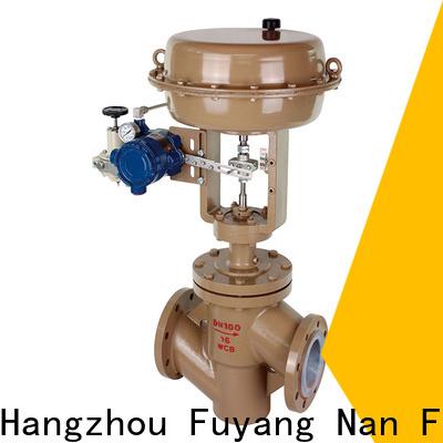 Nanfang safe equal percentage control valve valve pipelines Transportation