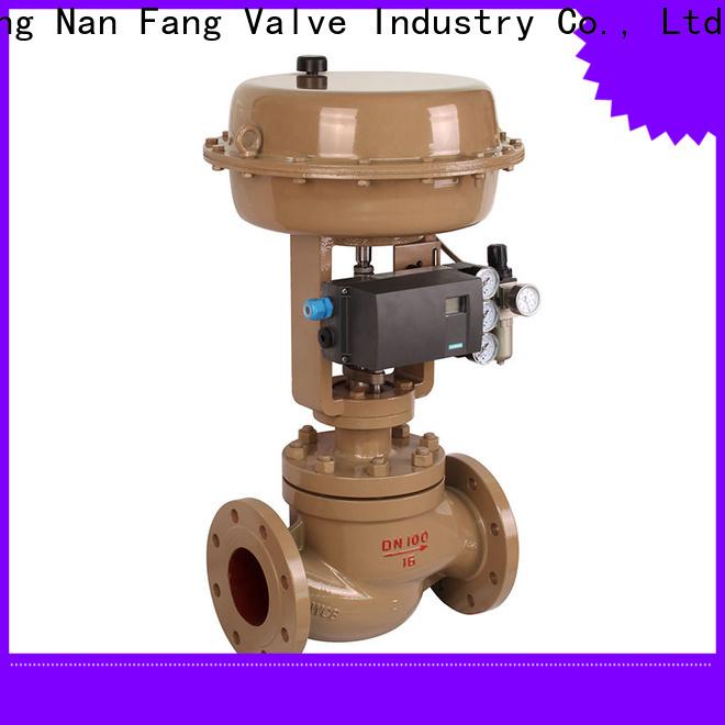 equal percentage control valve