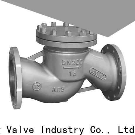 Nanfang cast compressor check valve supplier fine chemicals