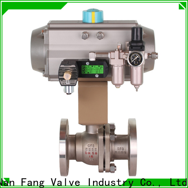 Nanfang mechanical npt ball valve supplier industry