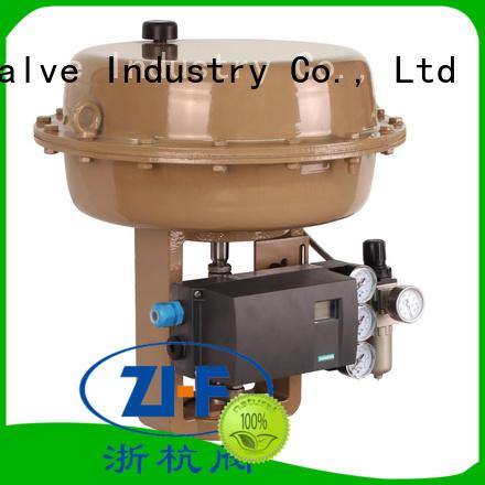 Nanfang pneumatic actuator valve electricity