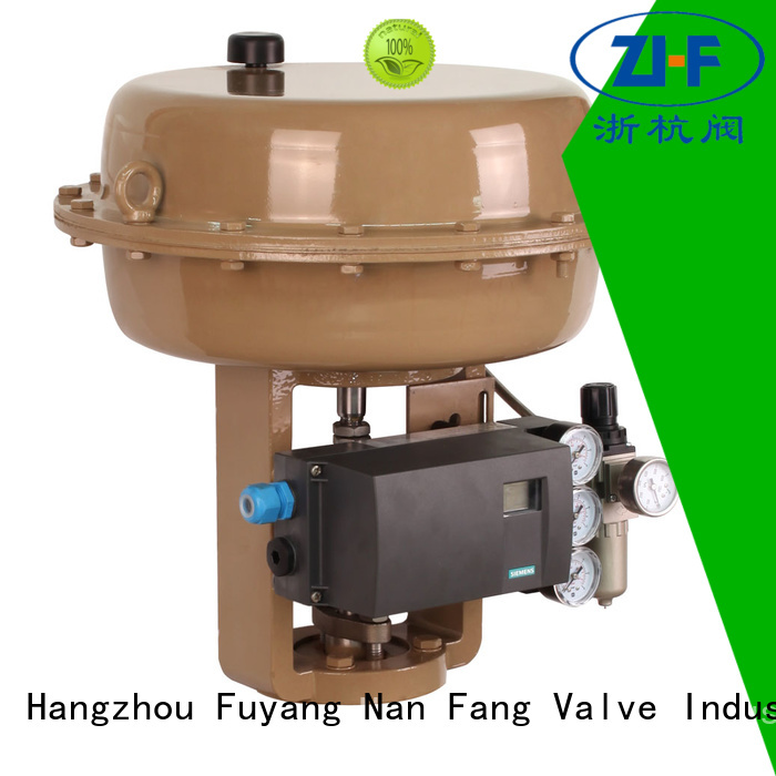 Nanfang pneumatic valve actuator supplier