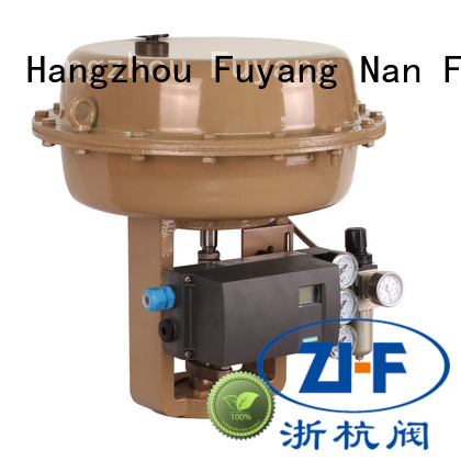 Nanfang custom pneumatic actuator valve new energy