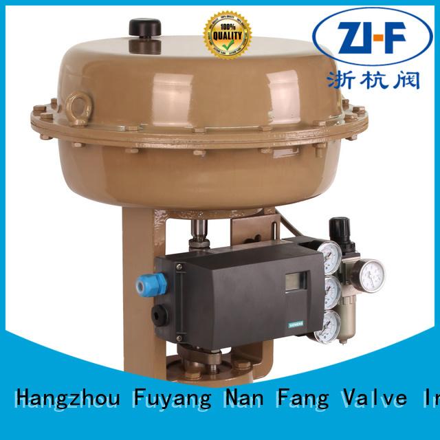 Nanfang pneumatic actuators manufacturer new energy