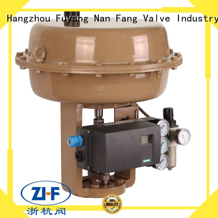 Nanfang oem pneumatic valve actuator machine metallurgy