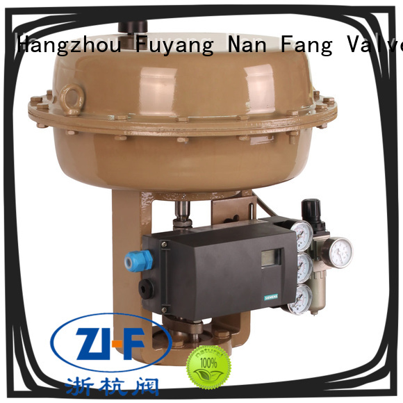 iron pneumatic actuator manufacturer