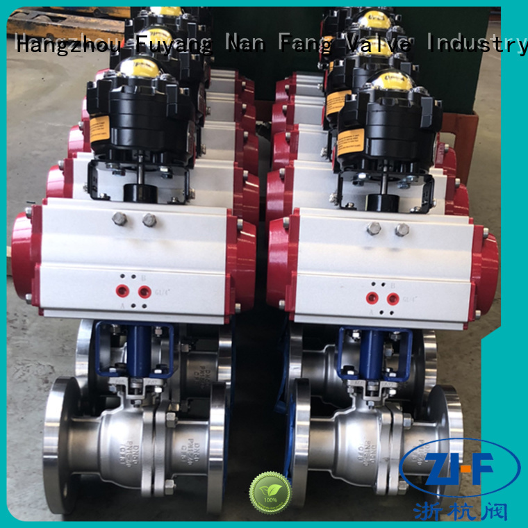 Nanfang pneumatic actuated ball valve tool LNG