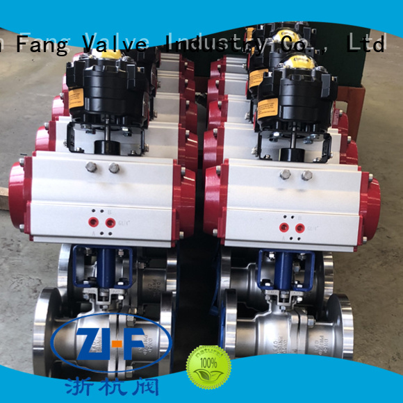Nanfang industrial electric actuated ball valve manufacturer global oil refining
